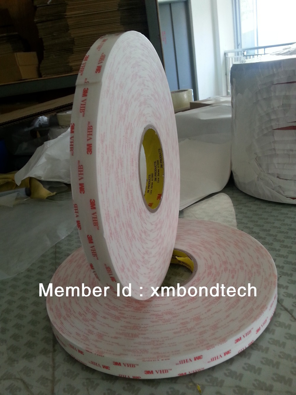 3M 4945 white VHB tape/ 3M double sided white tape with 1.1mm thick, 10mmX33M/roll недорго, оригинальная цена