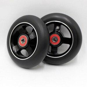 10 колес! Большая скидка! 100 мм 88a колеса для трюкового скутера/подшипника для ABEC-9/колеса скутера