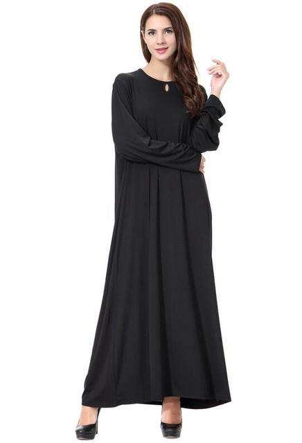 37d0f9e88a275 جديد أسلوب الباكستاني مسلم عباية اللباس للسيدات الموضة ملابس كم طويل ماكسي  فستان طويل فساتين دبي