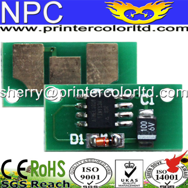 4 HY Refill Toner 4 Chips for Konica Minolta 7400 7450 Color Laser Printer