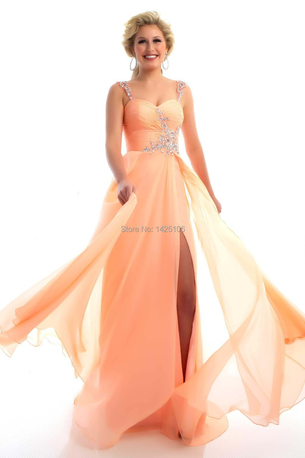 Cute Coral Colored Evening Gowns Photos Images For Wedding Gown