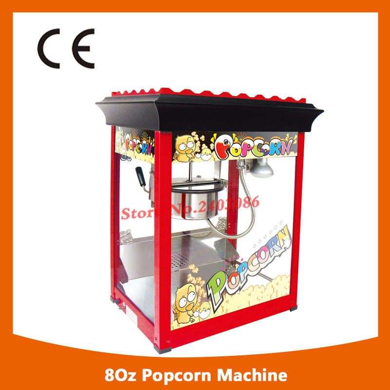 KW-BG818 ce approved 80oz electric kettle corn popcorn maker machine popcorn making with long life motor pop 06 economic popcorn maker commercial popcorn machine with cart