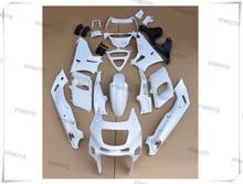 Мотоцикл Неокрашенный Белый ZZR-400 Обтекатели Кузова Комплект Для KAWASAKI ZZR 400 1993-2007 01 02 03 04 05 06 + 4 Подарок