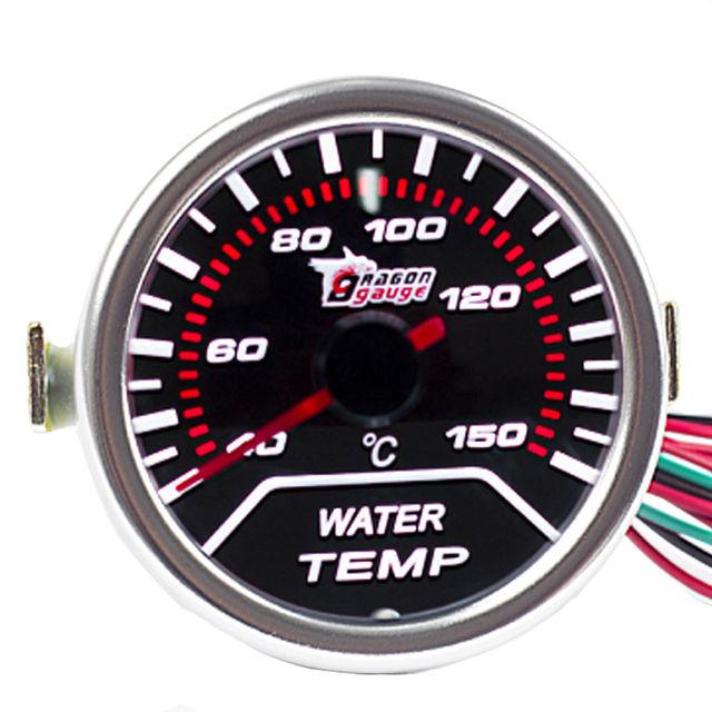 Boost/Vacuum/Water Temp/Oil Temp/Oil Press/Voltage/Tachometer/Air Fuel Ratio/EGT Gauge+Gauge Pods 52mm Analog led White Case