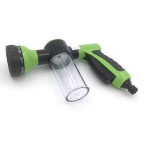 Image 5 - Pistola de água portátil 8 em 1, pistola de água para lavagem de carro, alta pressão pistola de espuma ao ar livre