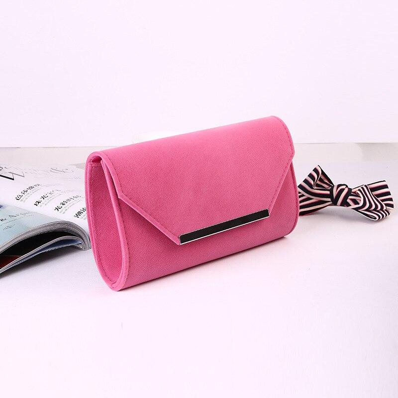 de Alta calidad bolsos de tarde, bolso de tarde Elegante Flocado nueva moda sim