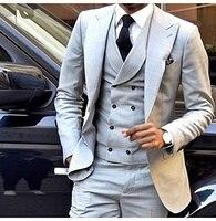Multi Color Wedding Mens Suits Blazer Male Single Slim Fit Grooms Tuxedos Formal Business Casual 3 pieces Set Jacket Vest Pant