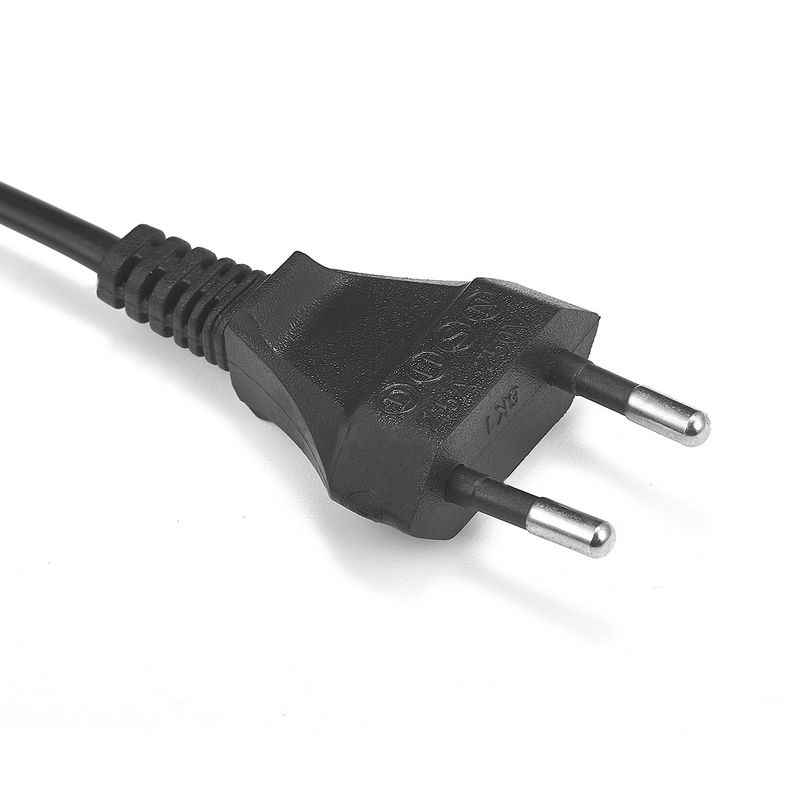 Europejska ue przewód zasilający rysunek 8 C7 przedłużacz kabla 1.5 m 18AWG dla ładowarki do akumulatorów PSP 4 radio przenośne na laptopa telewizor z dostępem do kanałów