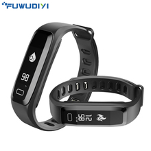 FUWUDIYI G15 Fitness Bracelet Heart Rate Tracker Smart Band Watches Passometer Smart Wristbands for IOS Android Xiaomi Mi Band 2