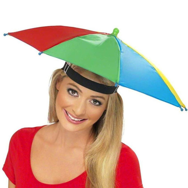 6ff71a8c242 Trendzone 501 Foldable Novelty Umbrella Sun Hat Golf Fishing Camping Fancy  Dress Multicolor Free Shipping