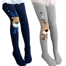 8bcfd815de6c6 Children Girls Tights Stockings for Baby Toddler Kids Elk Deer Style Tight  Girl Elastic Cotton Pantyhose