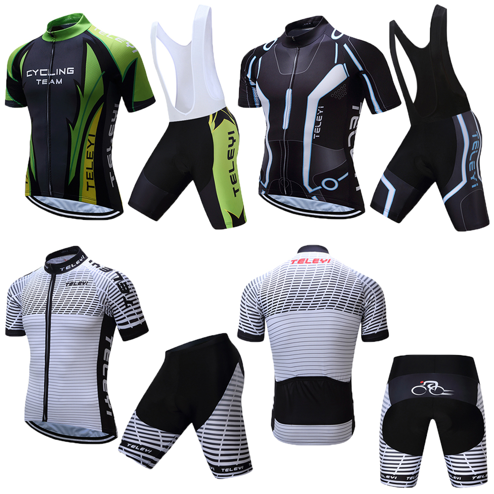 2018 Men TELEYI China Pro Team Cycling Clothing Mtb Uniforme Kit Bike Jersey  Set Skinsuit Wear Bicycle Clothes Maillot Ciclismo-in Cycling Sets from  Sports ... 1fd2e0955
