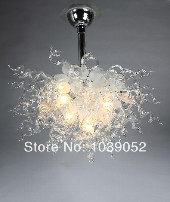 Online Retail White Hanging LED Crystal Pendants for Chandeliers in Chandeliers from Lights Lighting