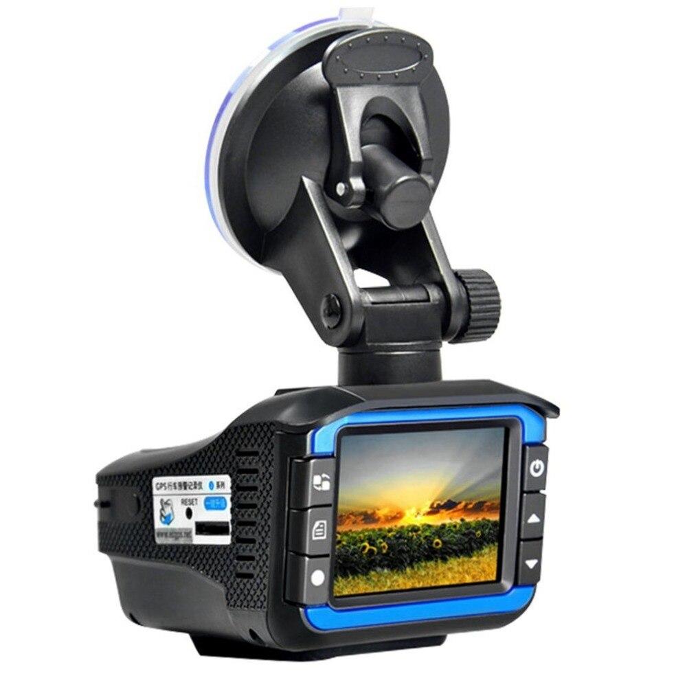 2017 Nouveau 2 dans 1 RD + Voiture DVR Caméra Dash Cam Vidéo Radar Vitesse Détecteur Nuit Vision HD LCD affichage 720 p Soutien 32g TF Dashcam
