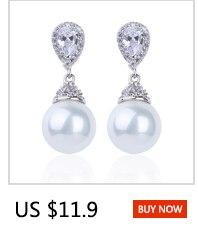 HTB1Ey7sdgKG3KVjSZFLq6yMvXXae Warme Farben 925 Sliver Women Earrings Made With Swarovski Crystal Elegant Pearl Drop Earrings Fashion Jewelry Wedding Earrings