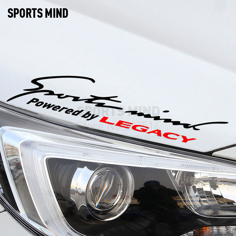 2 Pieces Sports Mind Car Styling On Car Lamp Eyebrow Automobiles Car Sticker For subaru legacy exterior accessories