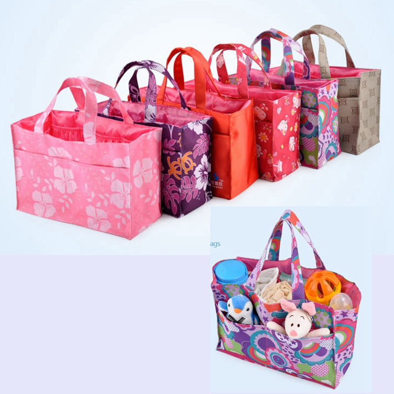 Insular Inner-Container Diaper-Bags Nappy Baby-Accessories Small Portable Polyester