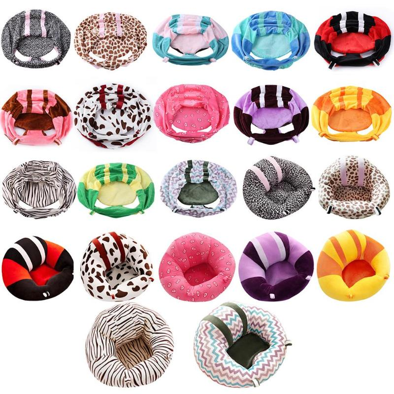 Baby Support Seat Cover Washable Without Filler Cradle Sofa Chair Kid Plush Chair Learning To Sit Comfortable Toddler Nest Puff