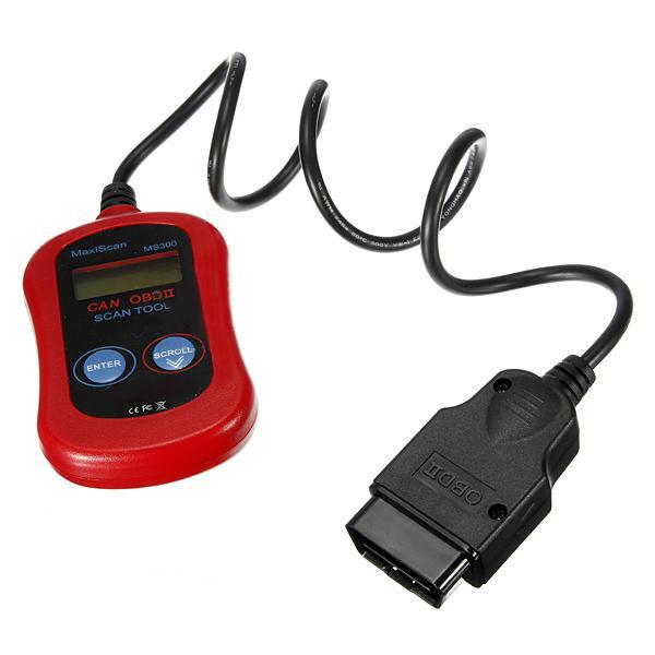 EDFY Autel Maxiscan MS300 OBDII OBD2 Leitor de Código de Auto Diagnóstico Ferramenta de Verificação