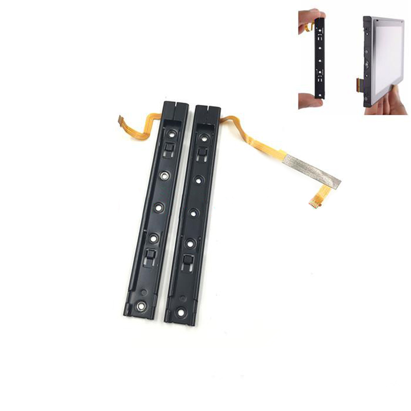 2 PCS Replair Part Left Right Slider With Flex Cable For Nintendo Switch Console