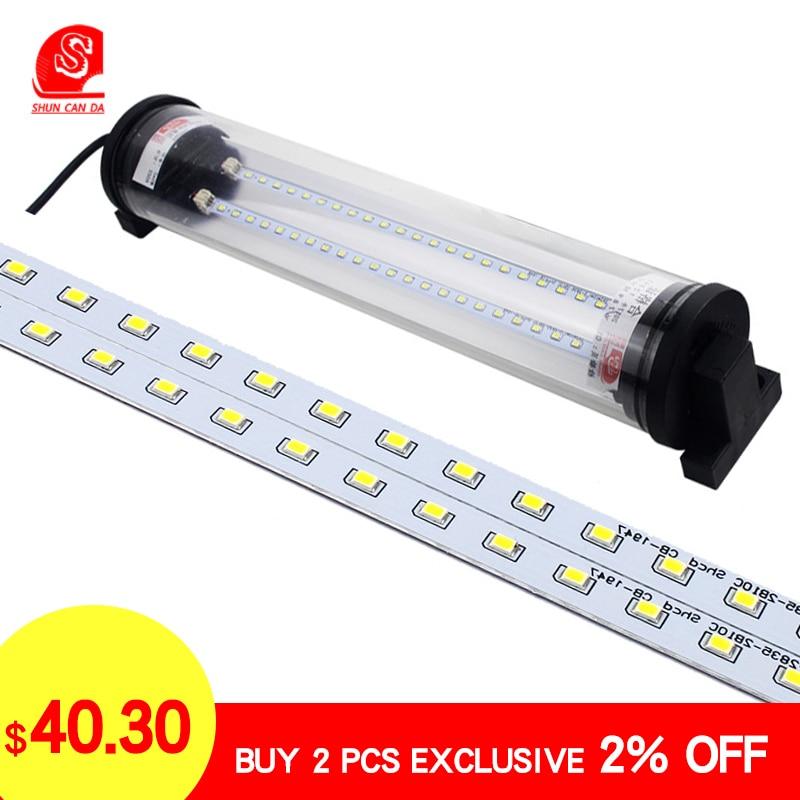 8W-40W LED CNC Machine Work Light Explosion Proof Lamps Led Tube Lathe Garage Milling Sewing Machine Light Industrial Lighting