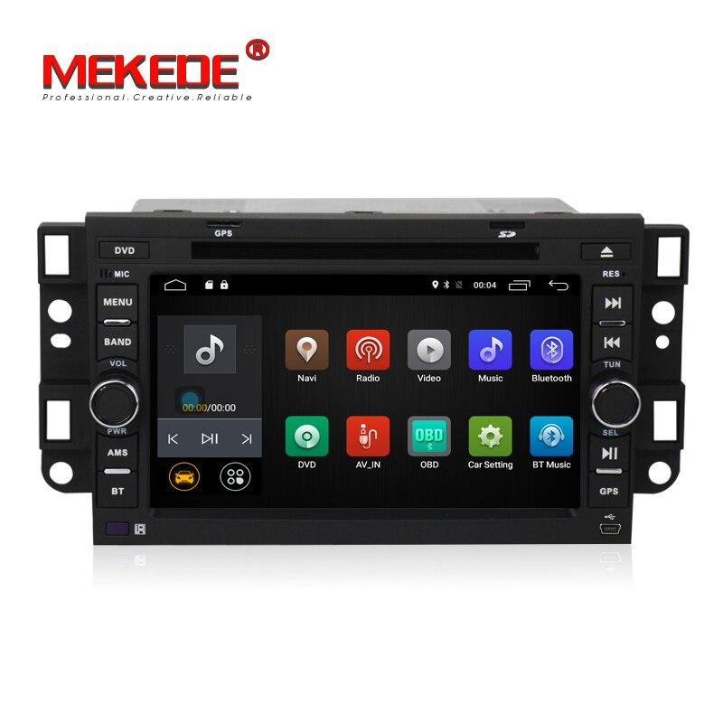 Android 7.1 Lecteur DVD de Voiture pour Chevrolet Daewoo Matiz Epica Spark Optra Captiva Tosca Aveo Kalos Gentra Quad Core GPS Radio