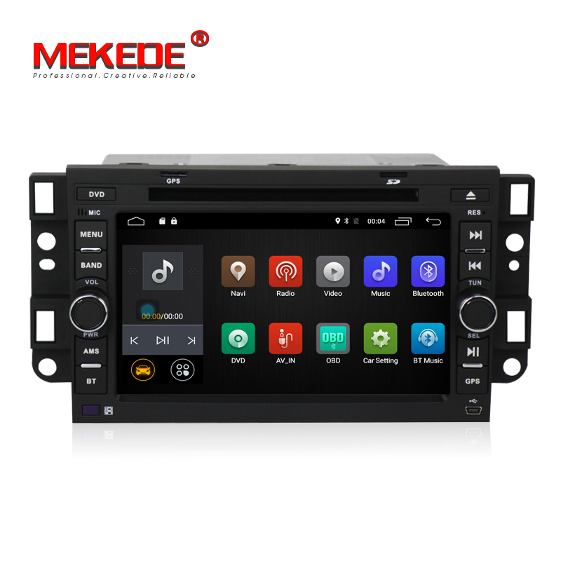 Android 7.1 Lecteur DVD de voiture pour Chevrolet Daewoo Matiz Epica Étincelle Optra Captiva Tosca Aveo Kalos Gentra Quad Core GPS radio