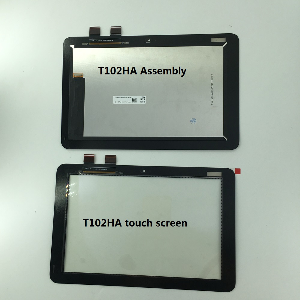 Lcd Display with Touch screen panel glass digiziter assembly replacement parts For ASUS Transformer Mini T102HA new 13 3 touch glass digitizer panel lcd screen display assembly with bezel for asus q304 q304uj q304ua series q304ua bhi5t11