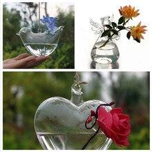 24 стиля стеклянная подвесная Ваза Бутылка Террариум гидропонный горшок Декор цветочные растения контейнер орнамент микро пейзаж DIY домашний декор