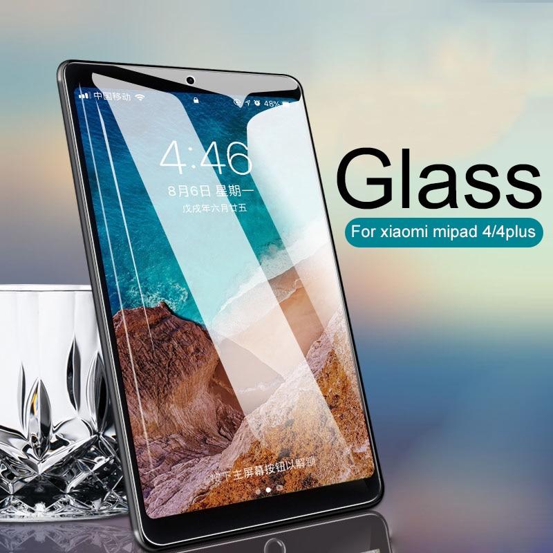 Protective Glass For Xiaomi Mi Pad 4 Plus Screen Protector Tempered Glass For Xiaomi MiPad 4 Tablet 4plus 10.1 8 Inch Glass Film