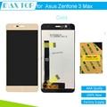 5.2 ''100% тестирование Для Asus Zenfone 3 Макс ZC520TL LCD дисплей с Сенсорным Экраном Дигитайзер Смартфон для Asus zenfone 3 макс жк-