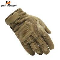 Сенсорный экран тактические перчатки мужские армейские спортивные военные спецназ полный палец перчатки противоскользящие мотоциклетные...