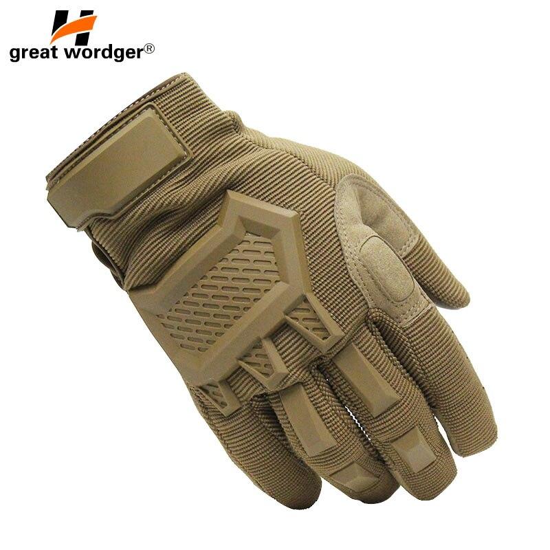 Touchscreen Taktische Handschuhe Männer Armee Sport Military Special Forces Volle Finger Handschuhe Gleitschutz Motorrad Fahrrad Gym Handschuhe