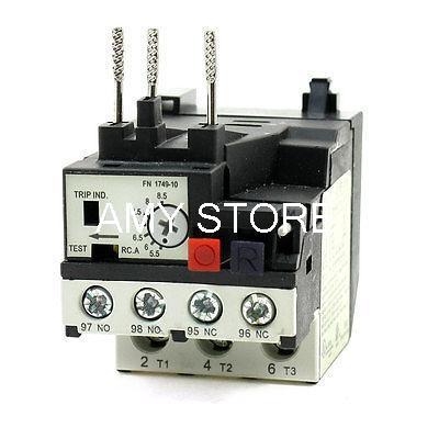 цена на RHN-10K 5.5-8.5A Range 3 Phase 1NO 1NC Electric Thermal Overload Relay