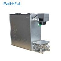 Automatic batch code Print Fiber Laser Marker Hot selling 20w fiber laser marking safety item diy fiber laser marker