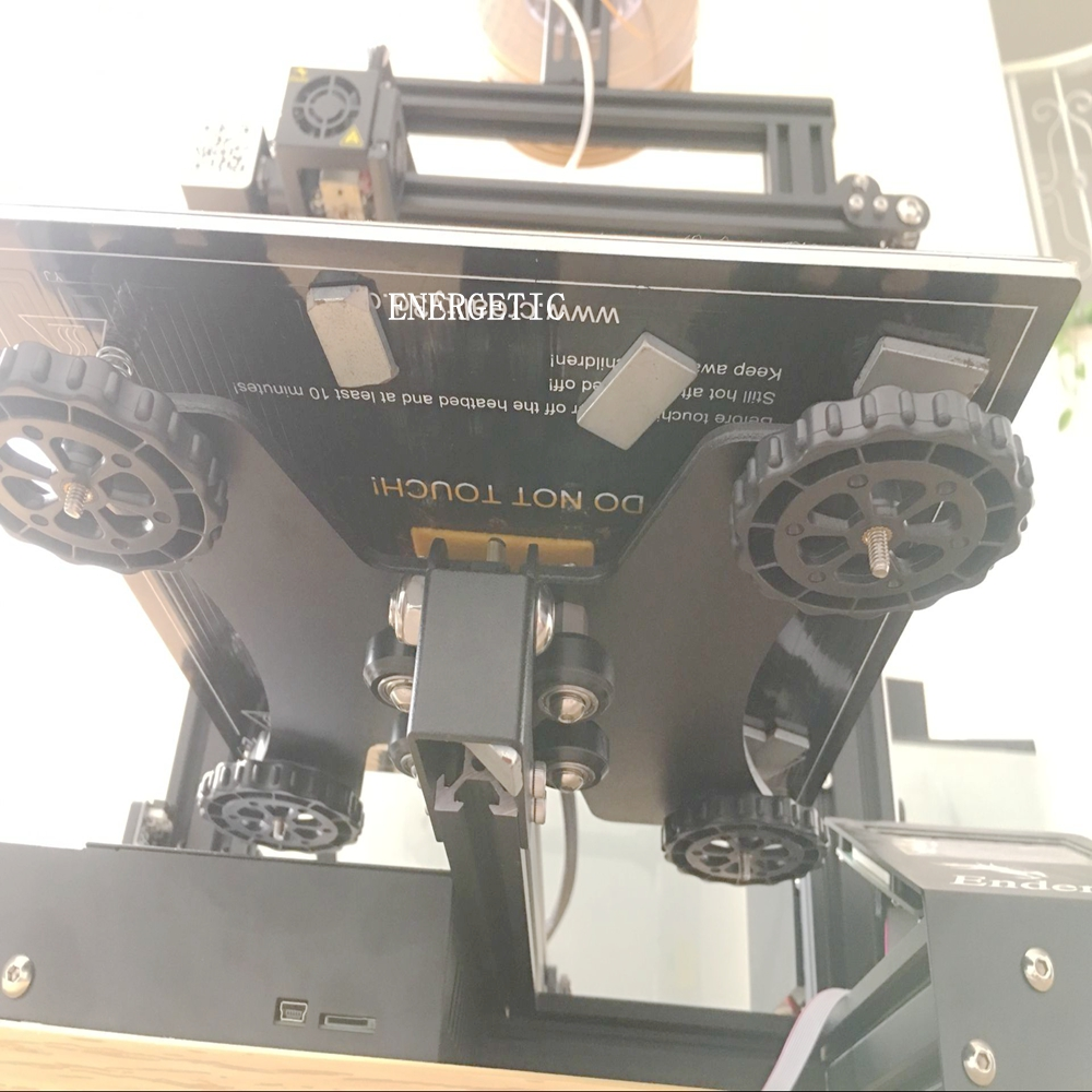 ENERGETISCHE hohe temp magneten für 3d drucker heatbed, N52 grade magneten, power magneten