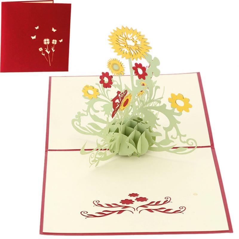 girasol regalo de cumpleaos tarjetas de felicitacin de accin de gracias da de navidad para la