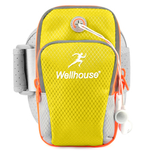 Unisex Waterproof Sport Baggage For Ladies Health club Equipment Cellular Telephone Holder For Working Polyester Armband Bag Belt Case For Telephone