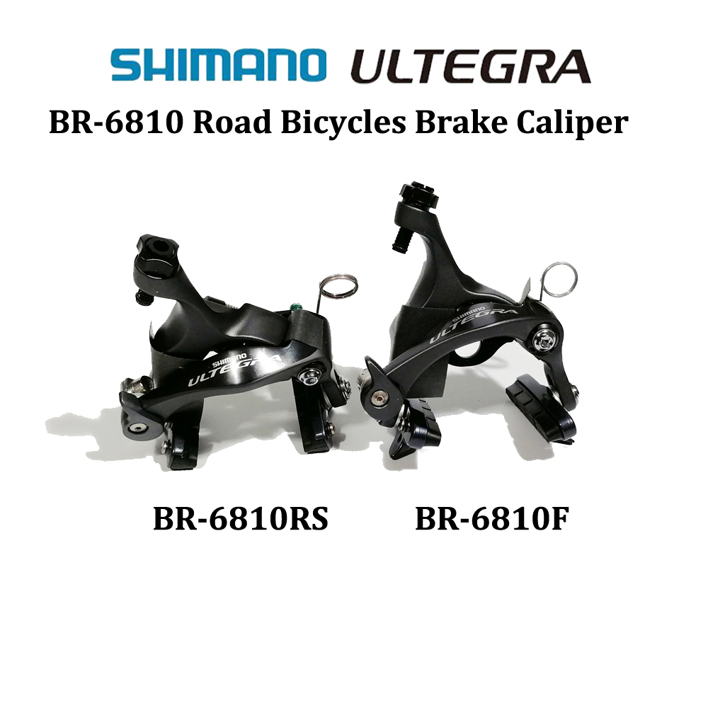 V brake SHIMANO ULTEGRA BR R6810 Direct mount Type brake caliper road bicycle brake R6810F R6810RS Front and Rear Brake 2 pair universal car 3d style disc brake caliper covers front rear