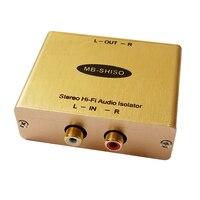 Hi Fi Audio Isolator RCA Amplifier Audio Noise Filter Ground