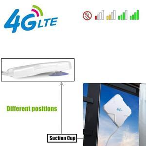Image 3 - Antena 4G LTE TS9, Aigital 35dBi Dual Mimo TS9 antena GSM/3G amplificador de señal de antena de alta ganancia con Cable de 6 pies antena exterior
