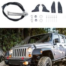 Limb Risers Kit Fit For JK Jeep Wrangler Parts 2007 2018 Limb Risers  Through The