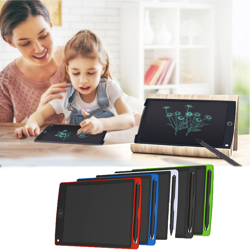 """8.5/"""" Digital Electronic LCD Writing Drawing Board Pad Tablet for Baby Kid Adult"""