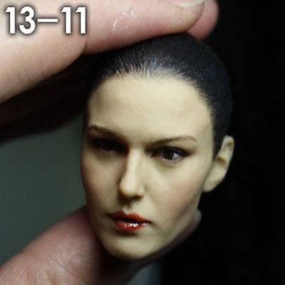 Female Head Sculpt Model Popular 1/6 Scale Beautiful Girl Head Carving For 12 Female Action Figure Body Model Doll Toys 1 6 popular km 38 female head sculpt model with black hair for 12 female action figure body doll toys