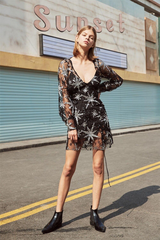 EASYSMALL женское платье мода лето праздник Звезда bling плюс размер высокого класса косплей с высокой талией с длинным рукавом vestidos платья
