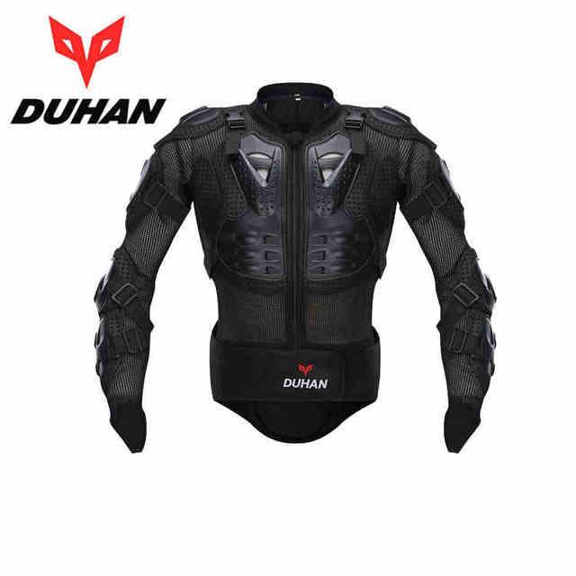 Carreras duhan motocicleta Armaduras protector motocross off-road Cuerpo  protección ropa chaqueta Protecciones envío libre 493d0334d0bb7