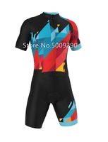 Cycling Skinsuit Triathlon Speedsuit Trisuit All in one Short Sleeve Speedsuit Maillot Ciclismo Clothing