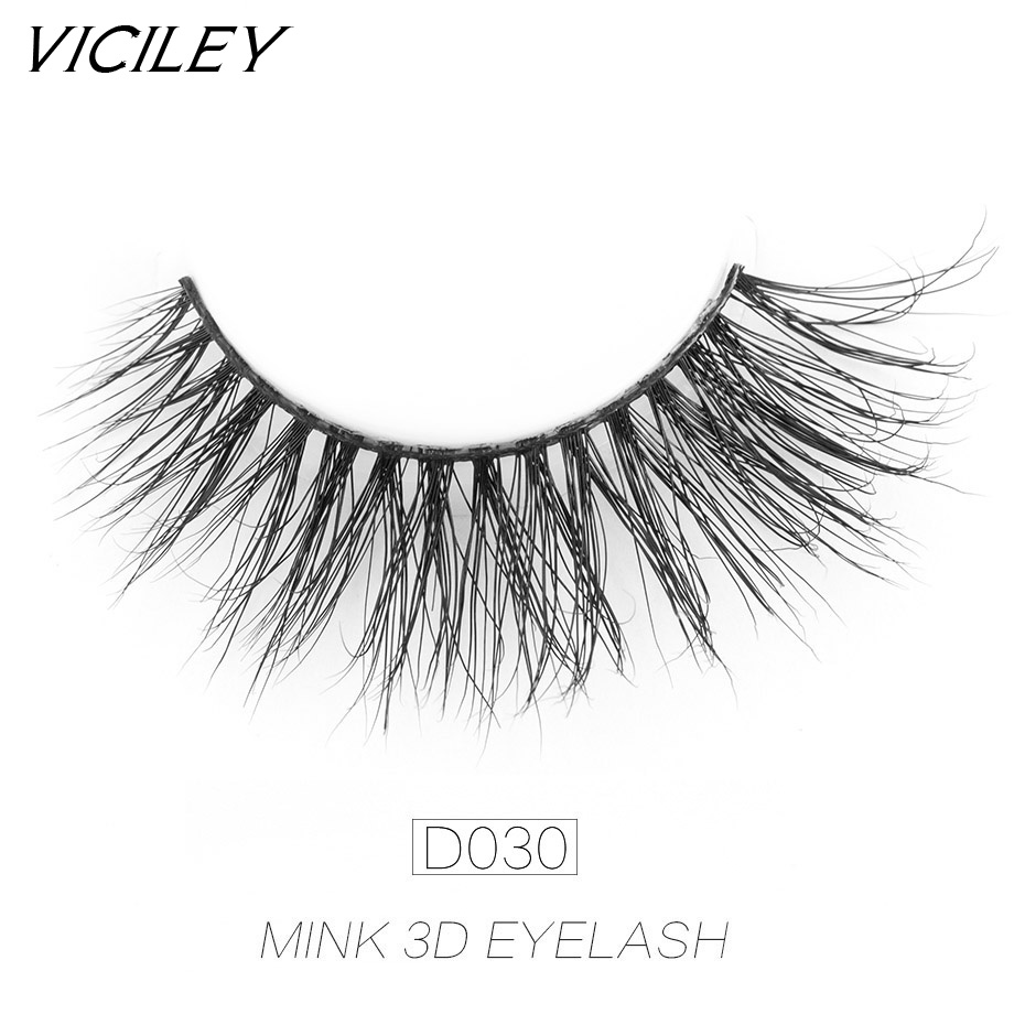 4296f791e8c Aliexpress.com : Buy VICILEY Mink Lashes 3D False Eyelashes Cilios Natural  Handmade Eyelashes Fake Eye Lash Extension for Makeup 21 styles D030 from  ...
