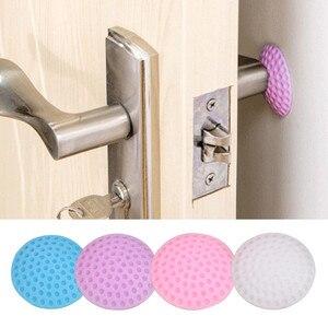 1 Pcs Rubber Wall Stickers for Home Mute Wall Pad Anti-collision Crash Pad Doorknob Lock Protective Pad Crash Pads Door