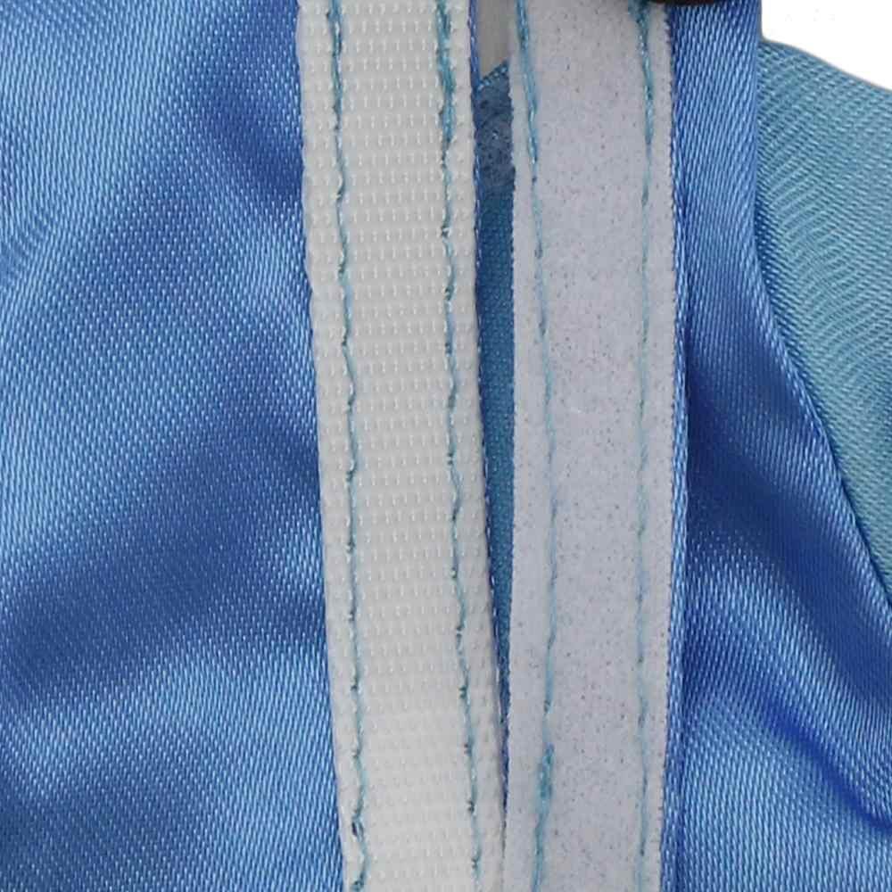 בעבודת יד מרחבי סגנון גברת שמלת מסיבת היכרויות ללבוש כחול ארוך שרוולים שמלת בגדים עבור ברבי בובת 12''Accessories ילדים צעצוע